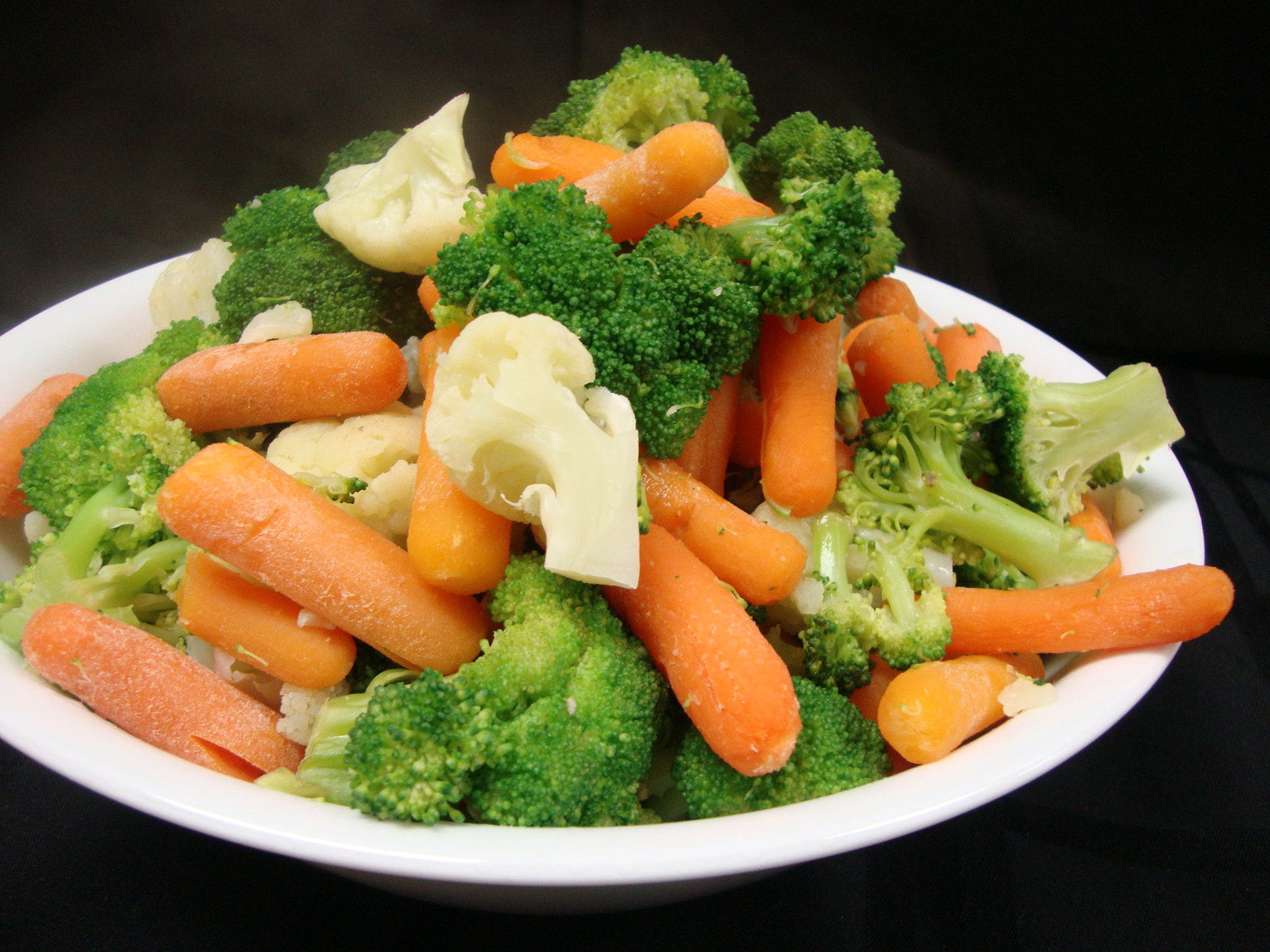 I didn't expect vegetables to be such vegetables.