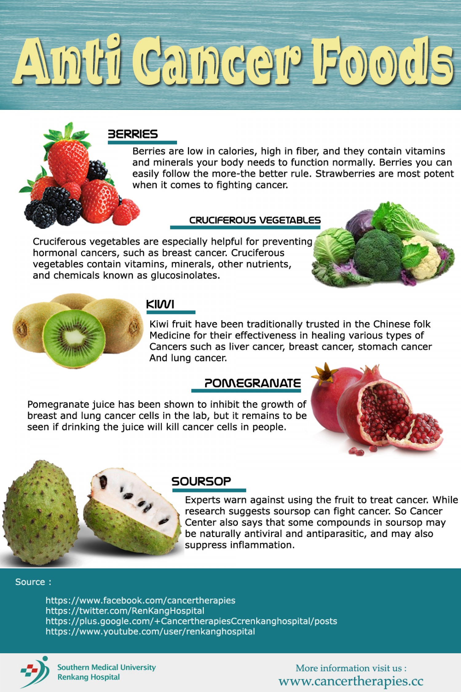 These 8 common foods are highly recommended and have anti-cancer ingredients!