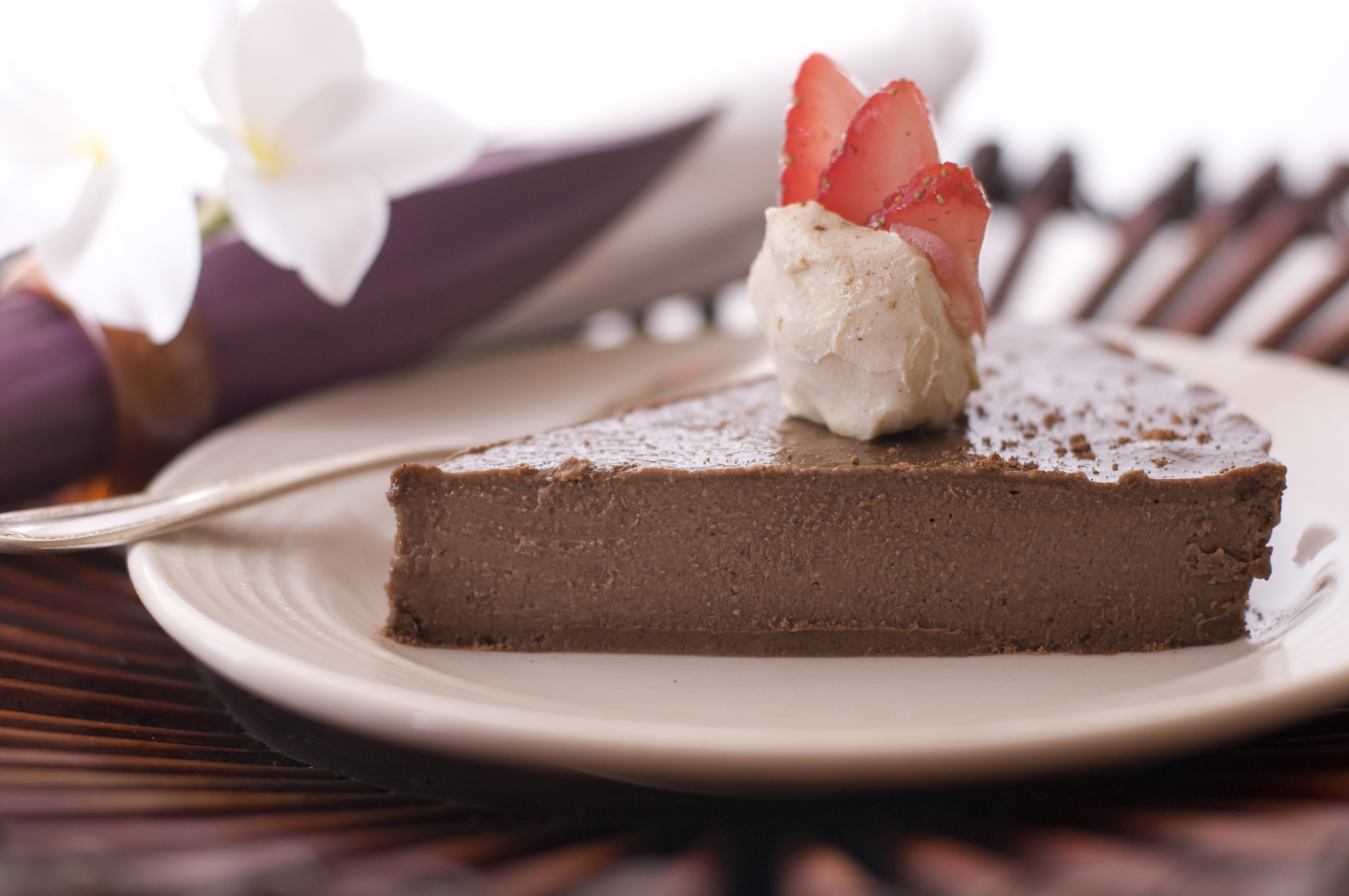 Berry Chocolate Mousse Pie