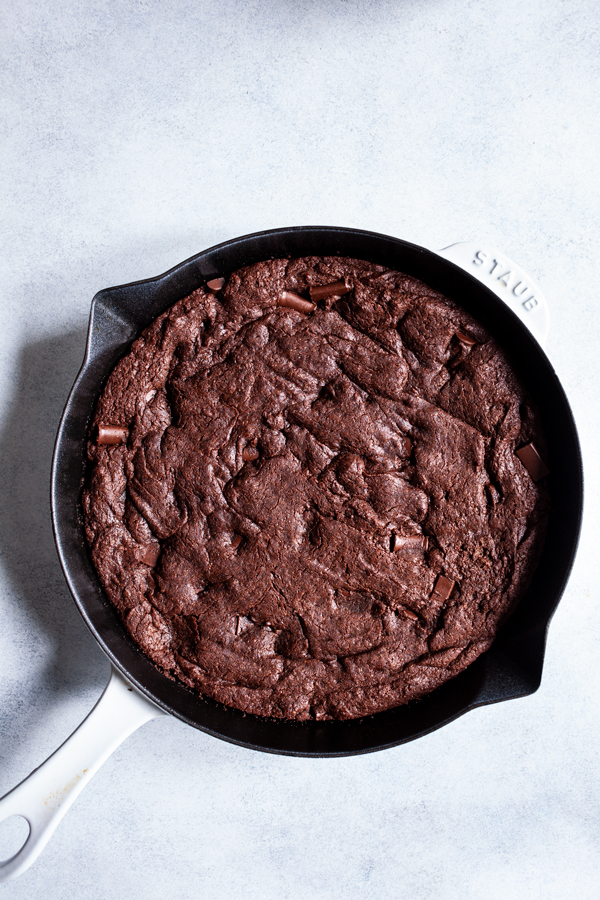 Vegan Skillet Brownies | Further Assistance