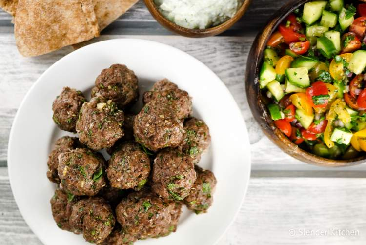 Green meat with healthy lunches this week
