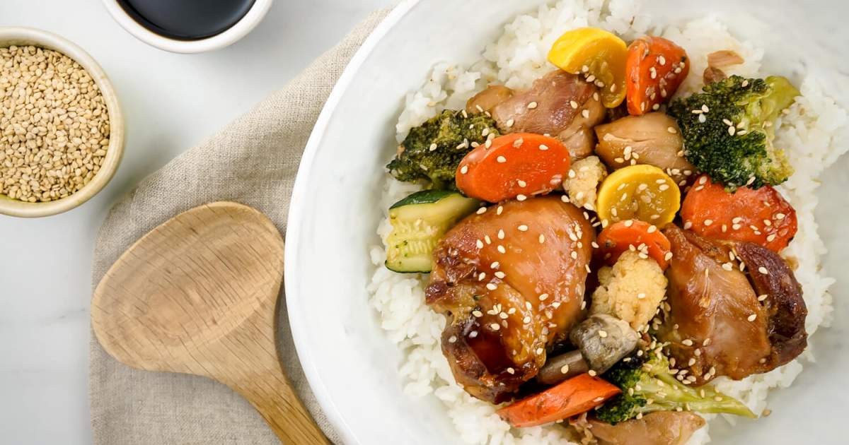 Cold Cereals with Teriyaki Chicken