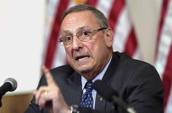 Maine governor has instructed him and the referee to expand Medicaid