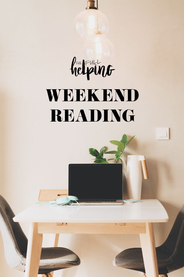 Read More Weekly Reading