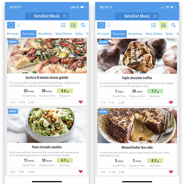KetoDiet App is best: 1,300 Recipes & Drinks Food Diet