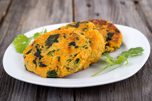 Sweet potatoes & veggie maize flour