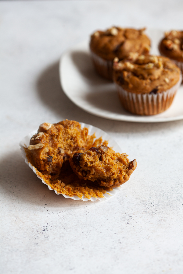 # 39; Vegan Pumpkin Cranberry Walnut Muffins | Full Help
