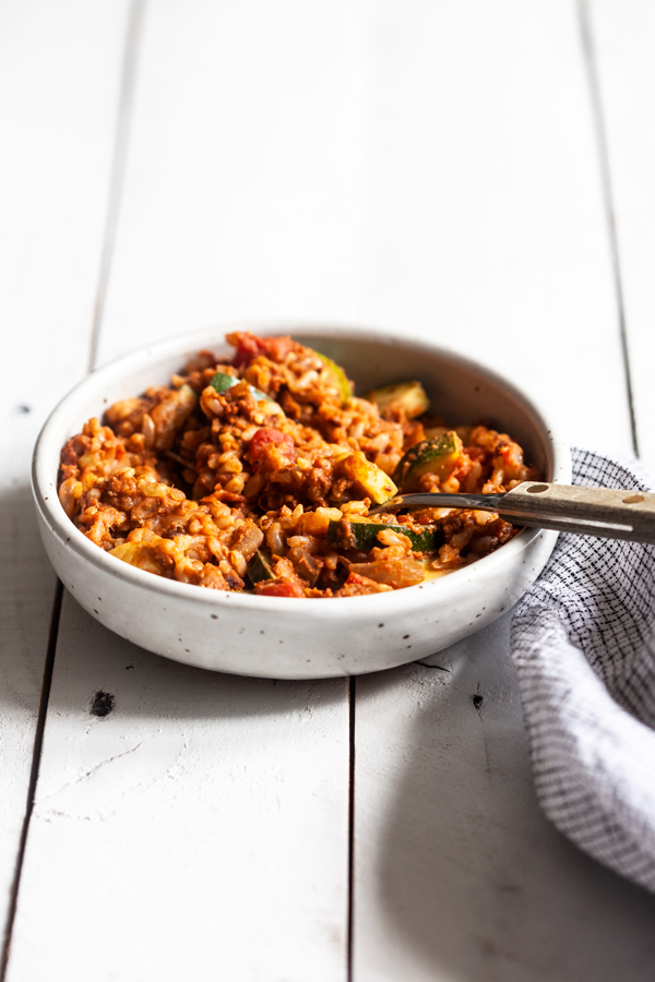 One Skillet Sprated Lentil Walnut Rice | Full Help
