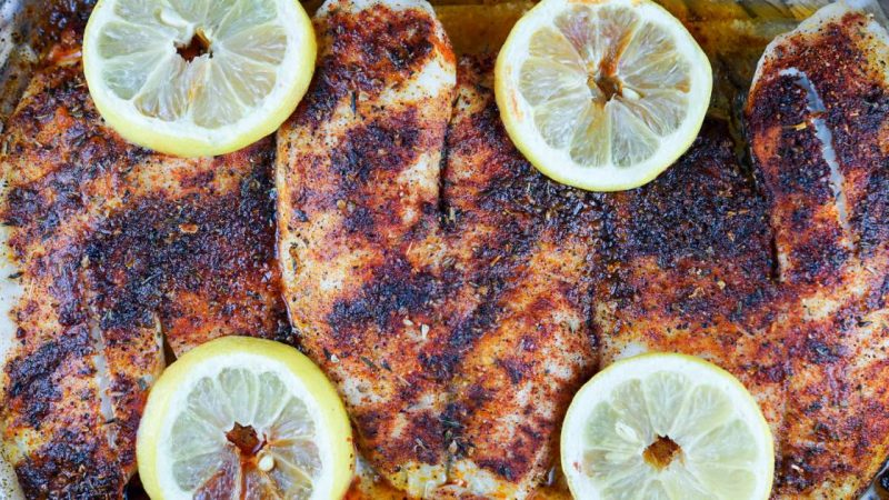 Black Tilapia – Slender kitchen