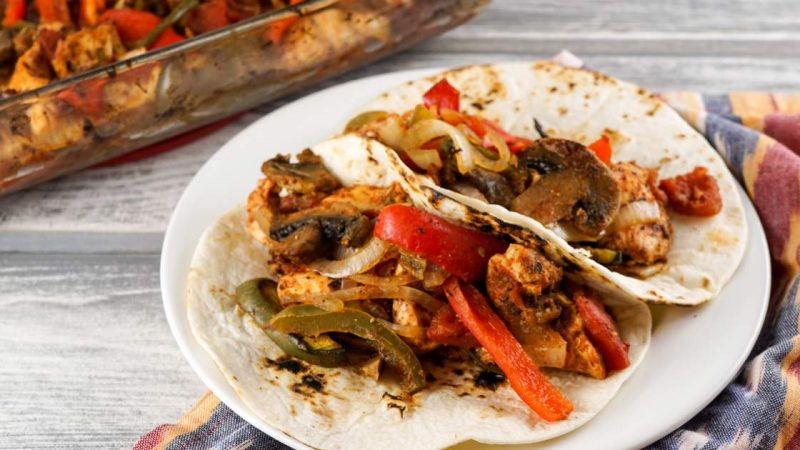 Chicken Fajitas – Slender kitchen