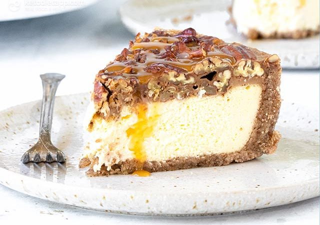 Pie Carc Pecan Pie Cheesecake | KetoDiet Blog