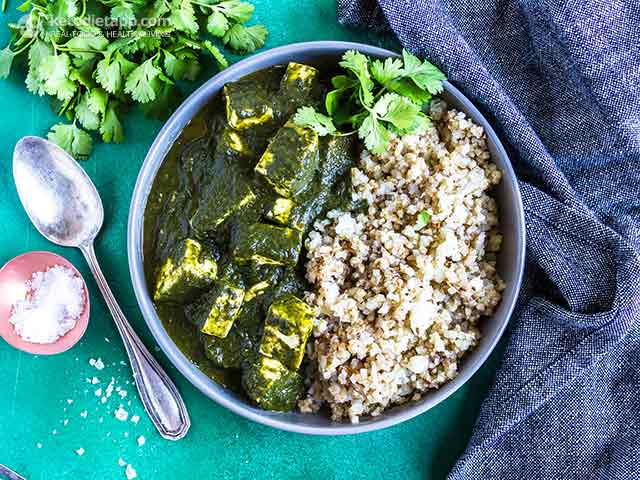 Small-Carb Instant Pot Palas Paneer
