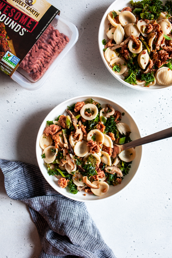 Protein Packages, Mushroom Other Muscles   Pasta   Full Help