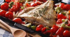 One Whole Foods Greek Greek Fish and Vegetable Diet