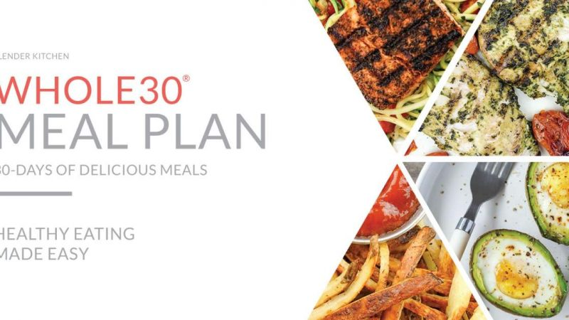 Whole30 Foods Plan and Shopping List