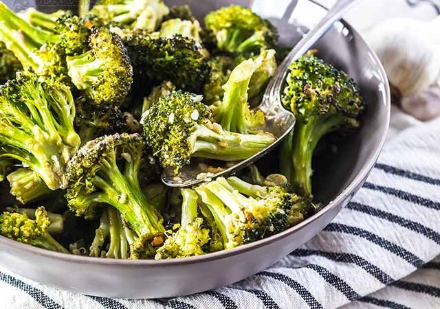 Low-Carb Roasted Marined Broccoli | KetoDiet Blog