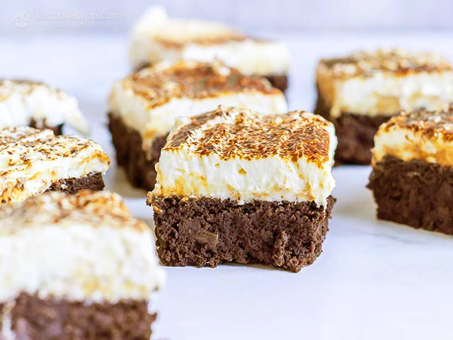 Tiramisu Brownie low-Carb | KetoDiet Blog