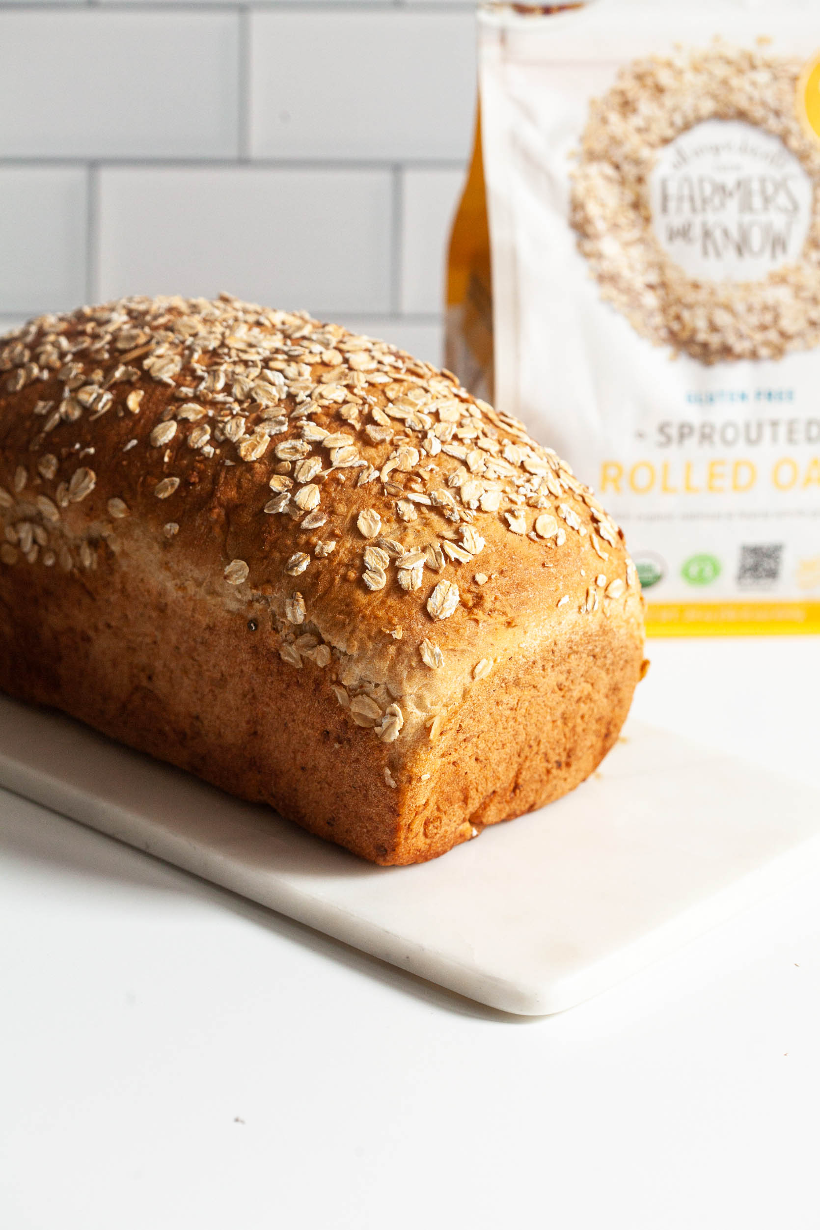 Maple Oatmeal Bread | Full Help