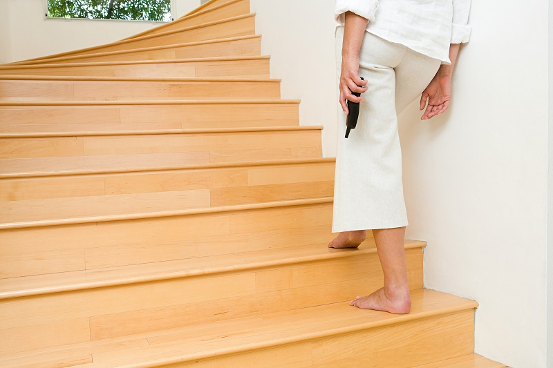 home staircase for exercise