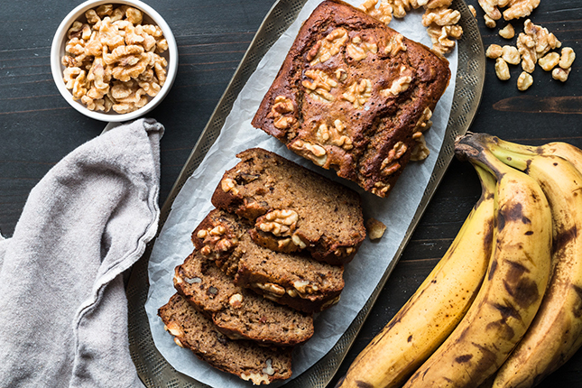 Baked banana Almond Flour Banana Recipe