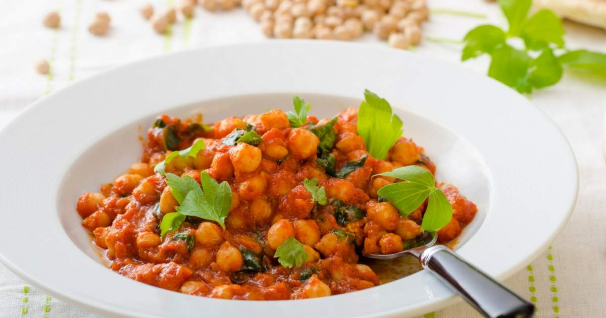 Tomato Soup & # 39; Curry Curry Chickpea Stew & # 39;