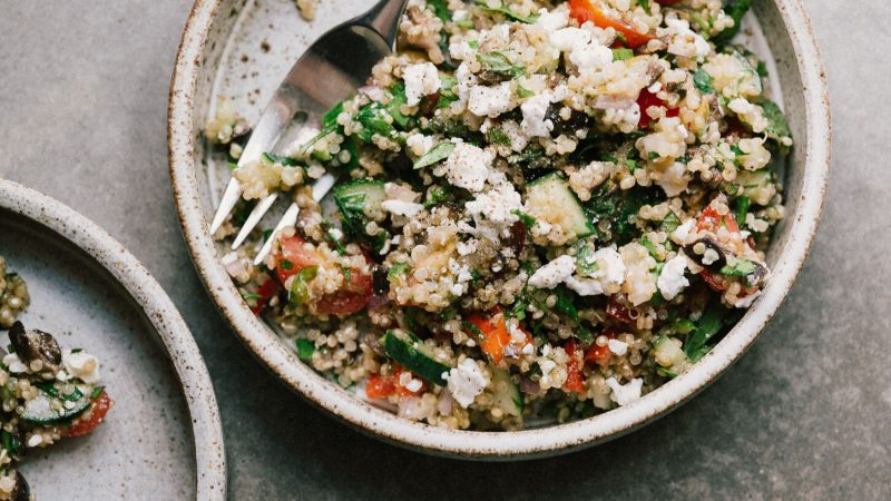 YEAR GALK QUINOA SALAD – Split kitchen